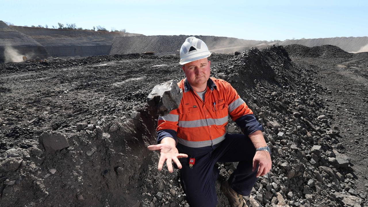 Andy Scouller is the wash plant manager at New Acland Coal Mine.Pic Annette Dew