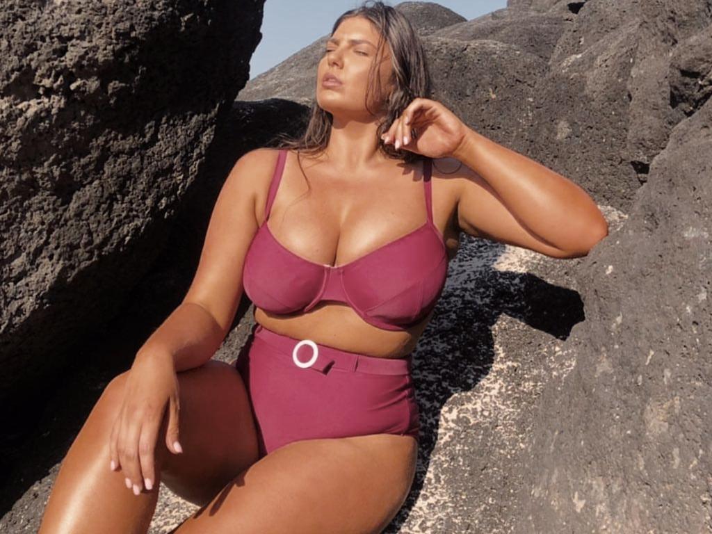 Madeline May models Moni the Label swimwear.