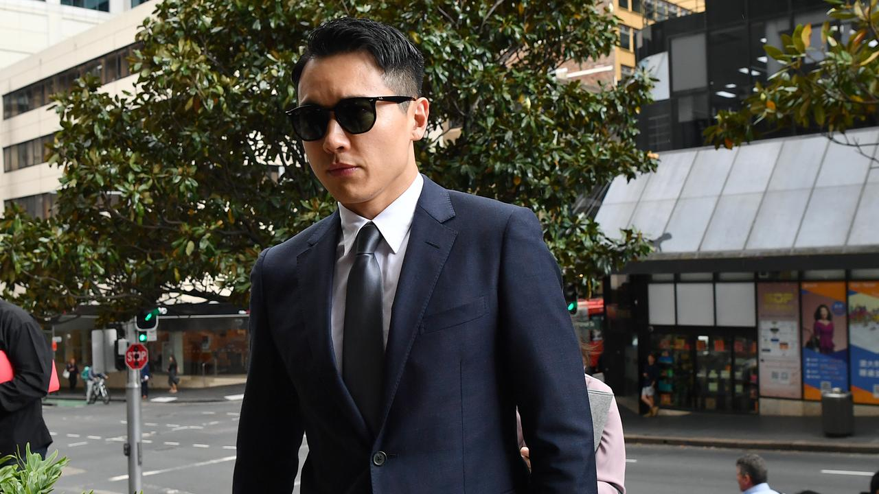 Yunxiang Gao attends his rape trial. Picture: AAP