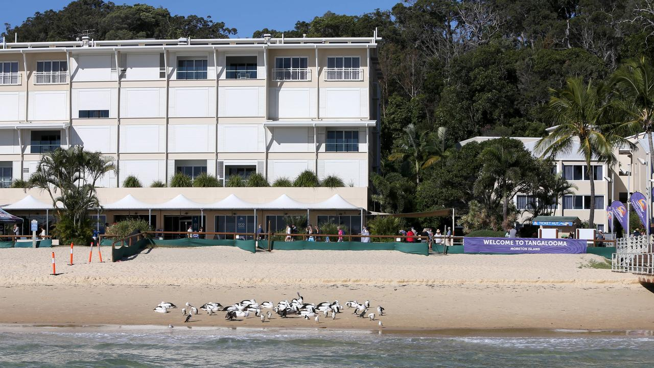 More than 50 people are believed to have fallen ill with gastroenteritis after issues with Tangalooma Island Resort's water supply. Picture: Steve Pohlner