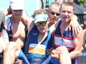 Spirit of camaraderie wins meters from finish line