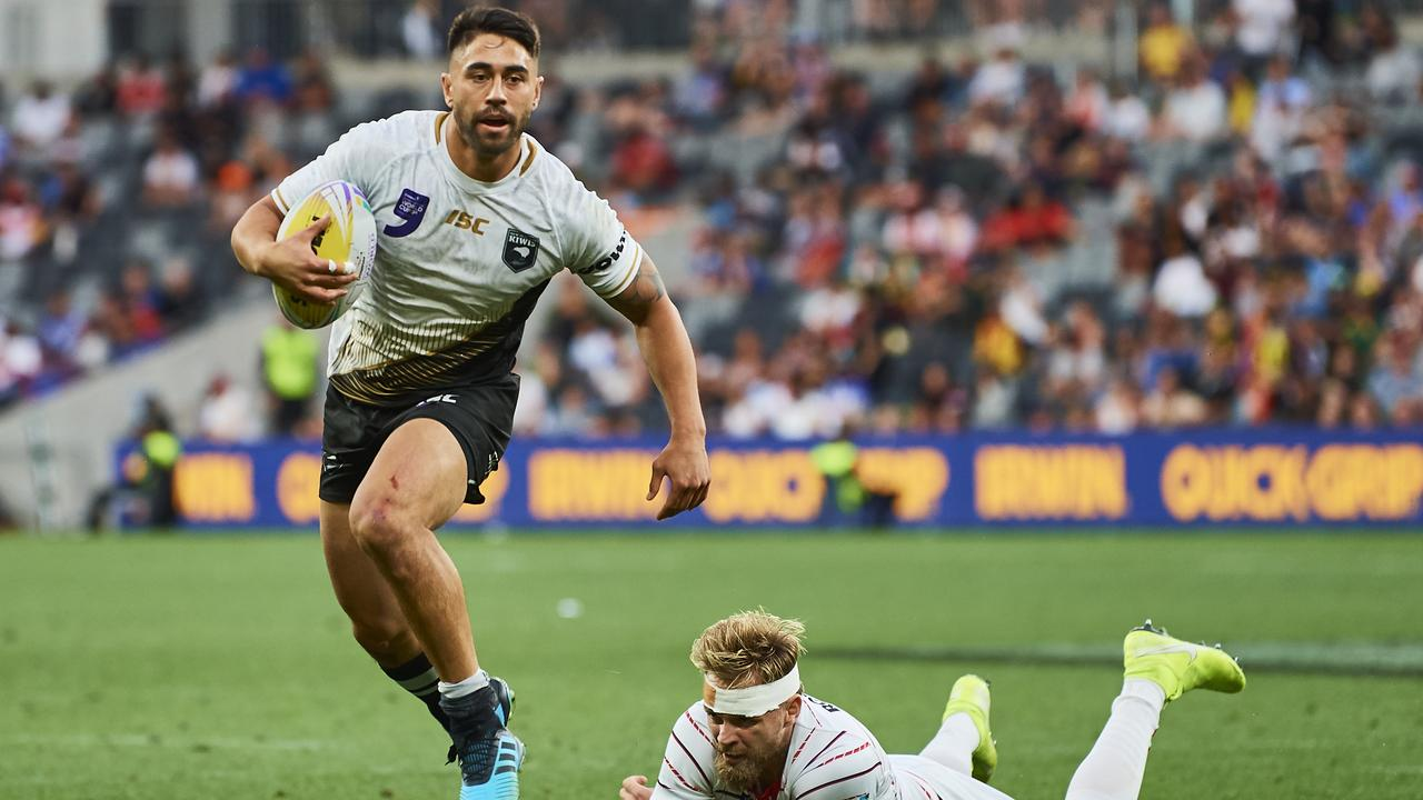 Shaun Johnson has earned a recall for New Zealand. Picture: Brett Hemmings