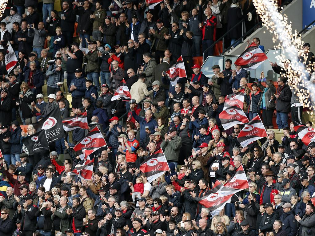 Saracens fans won't be pleased if their team is penalised.
