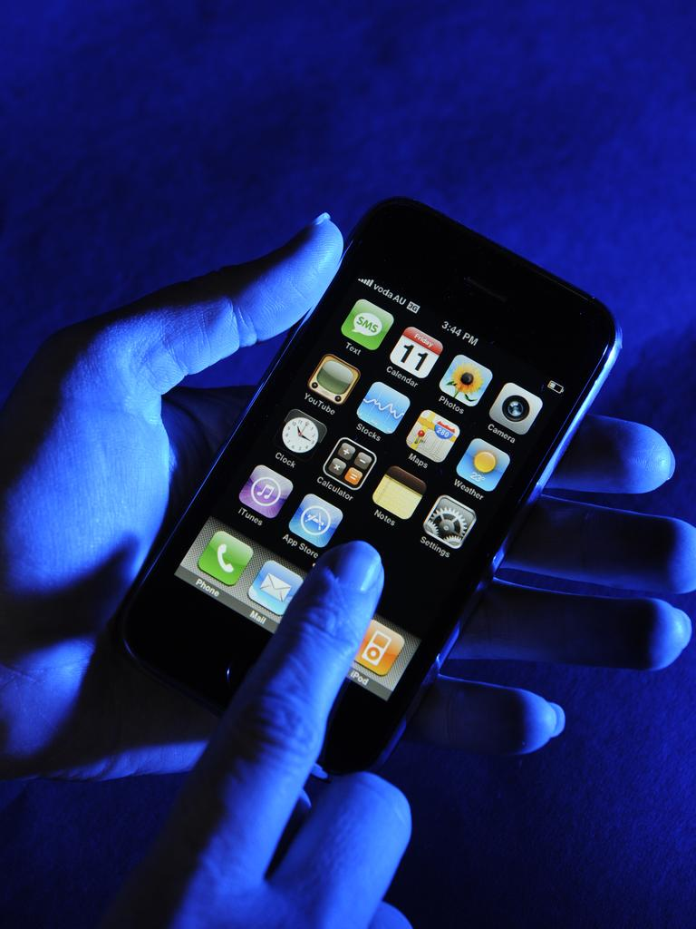 Police are investigating an incident where someone allegedly purchased a phone under a fake name.