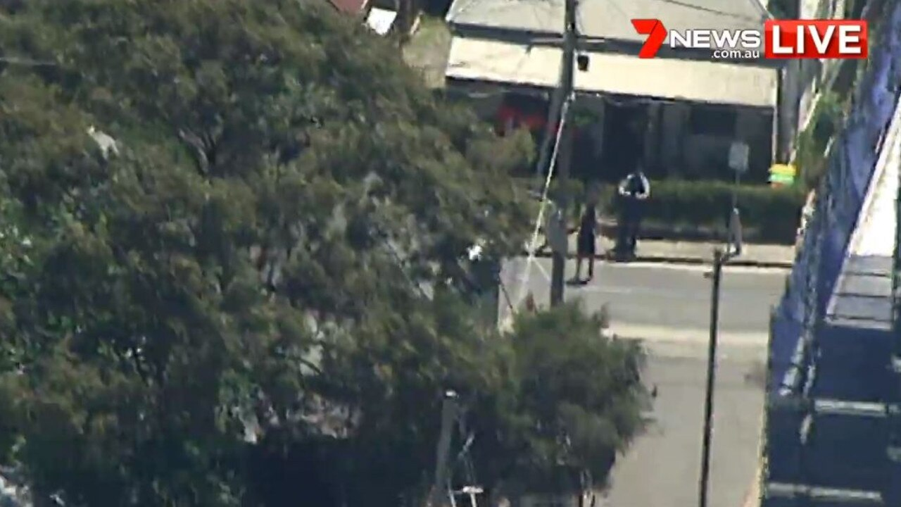 St Peters from above. Picture: 7 News