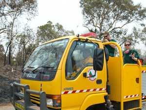 STAY INFORMED: Crews continue to monitor Glenfern bushfire