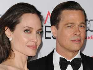 Nude Angelina takes swipe at Brad