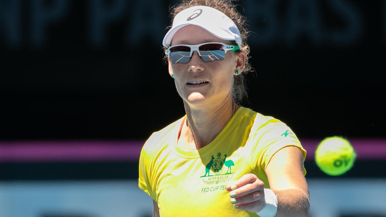 Sam Stosur brings a ton of experience to the Aussie squad.