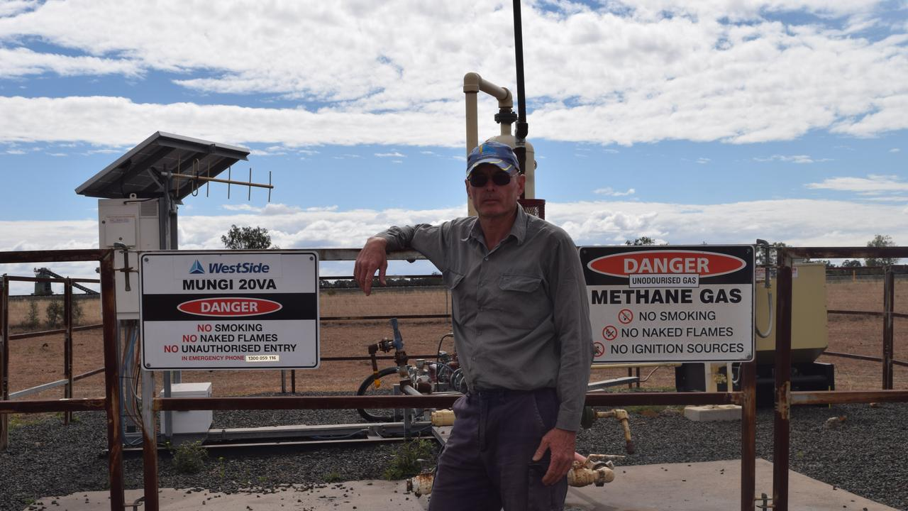 GET CRACKING: Third generation Moura farmer Warren Luhrs urges landholders to find out their rights and entitlements when dealing with gas companies.