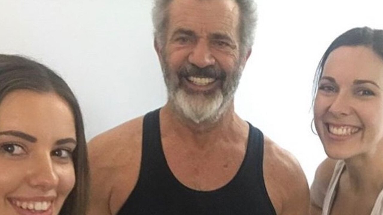 Mel Gibson at the My Fitness Club Broadbeach with owner Rick Brennan. Source: Facebook