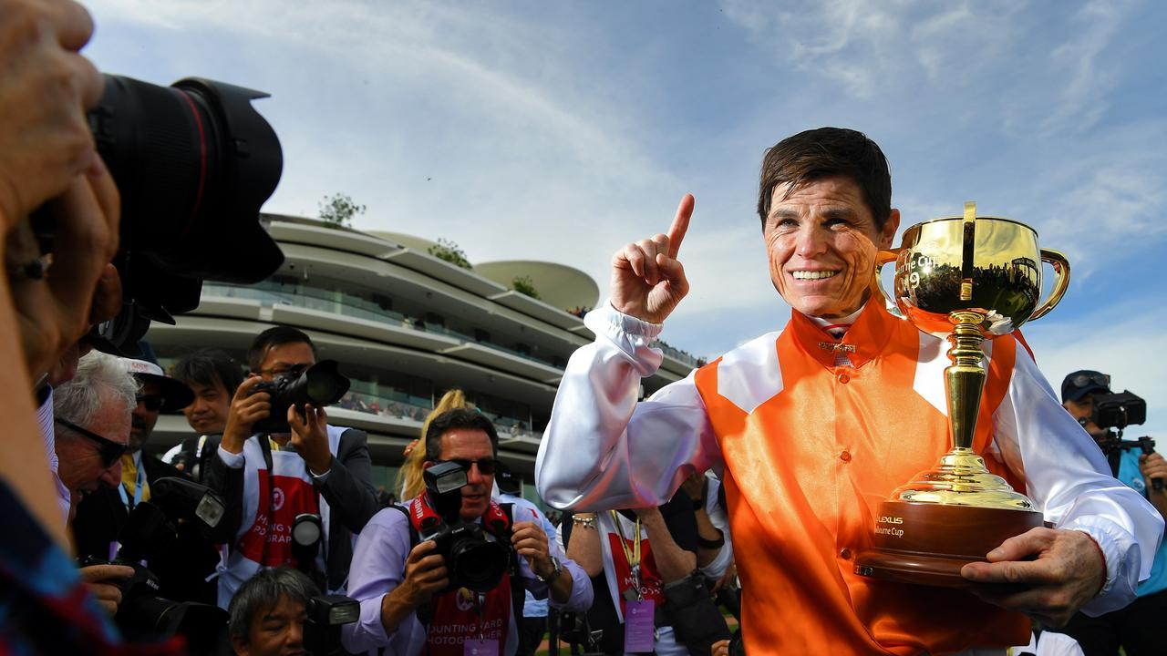 There was a significant slump in free-to-air television ratings, on-course attendance and betting turnover on Australia's most famous race won by Vow And Declare.