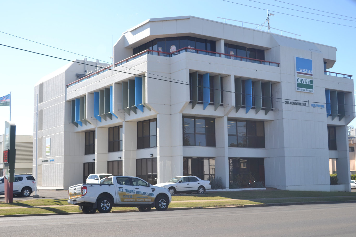 FILE PHOTO: Western Downs Regional Council's Dalby administration building.