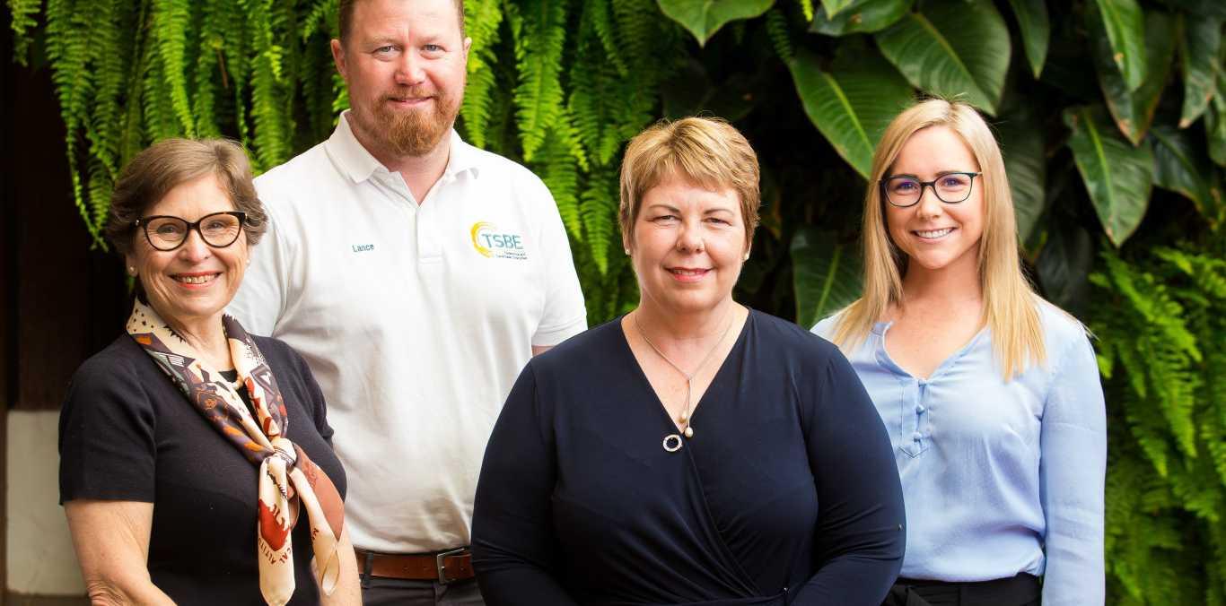 The TSBE FLA exporters team (from left) Geraldine Doumany, Lance MacManus, Helen Bates, Helen Ward.jpg