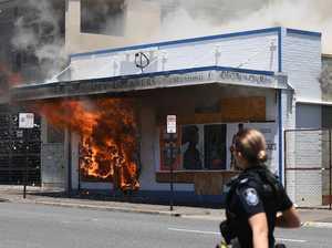 Ipswich CBD Fire