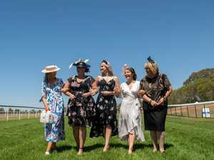 80+ PHOTOS: Op-shop outfit claims Oaks Day fashion title
