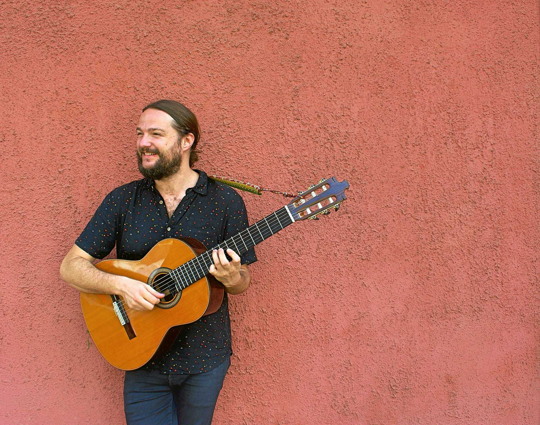 A MAN AND A GUITAR: Chilean musician Nano Stern is preparing to perform at Mullum Music Festival later this month.