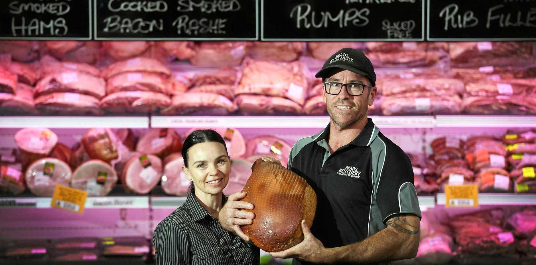 SUCCESS: Brad and Tanya Holloway of Brad's Butchery at Lismore and Ballina, and a new store in Goonellabah.