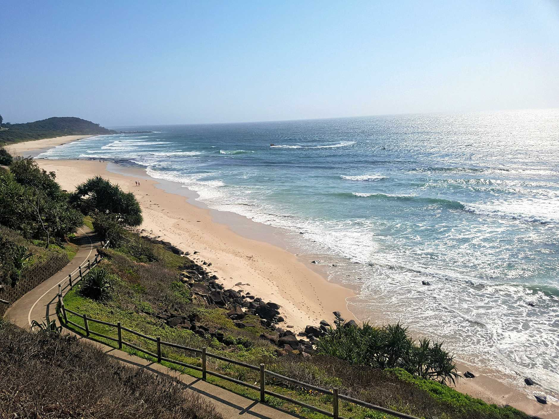 Work on the proposal for an ocean pool at Balllina's Shelly Beach is ongoing.