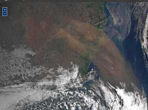 Dust haze blows in over the Northern Rivers