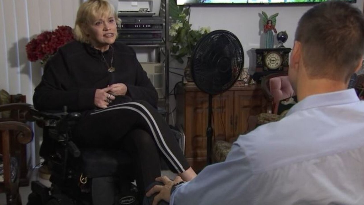 Samantha Markle gave an interview to a local Florida TV station. Picture: Fox 13