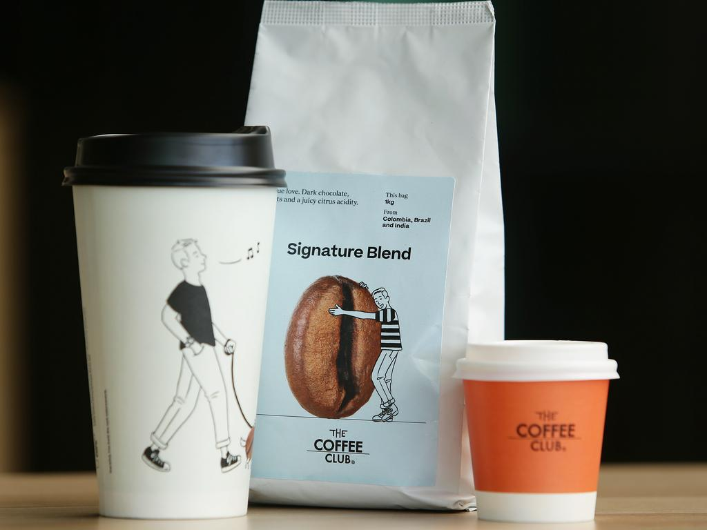 The new branding includes a more contemporary design and the ditching of the traditional black and white cup. A new logo will be launched in February 2020. Picture: AAP Claudia Baxter