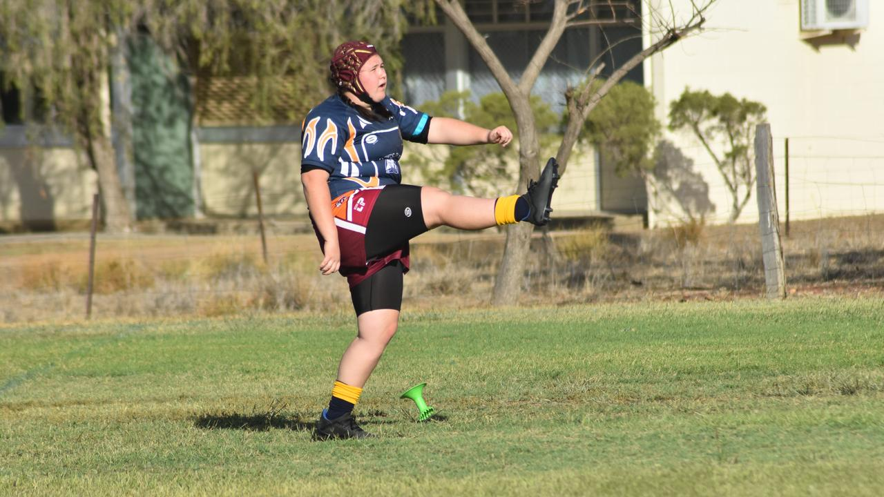Outback Secondary Schoolgirls Challenge, round 4.