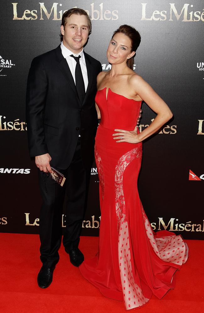 Stuart Webb and Kate Ritchie in 2012. Picture: Brendon Thorne/Getty Images