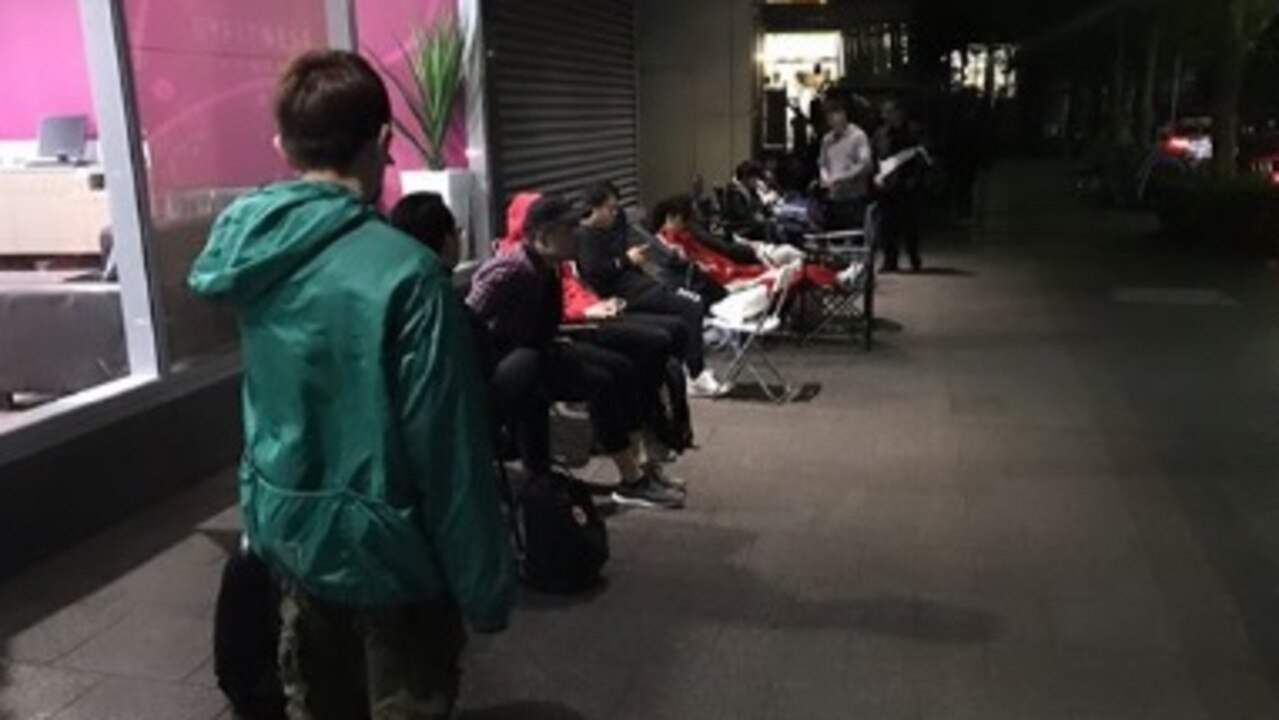 People line up at Ikea from 5am to get their hands on its new range.