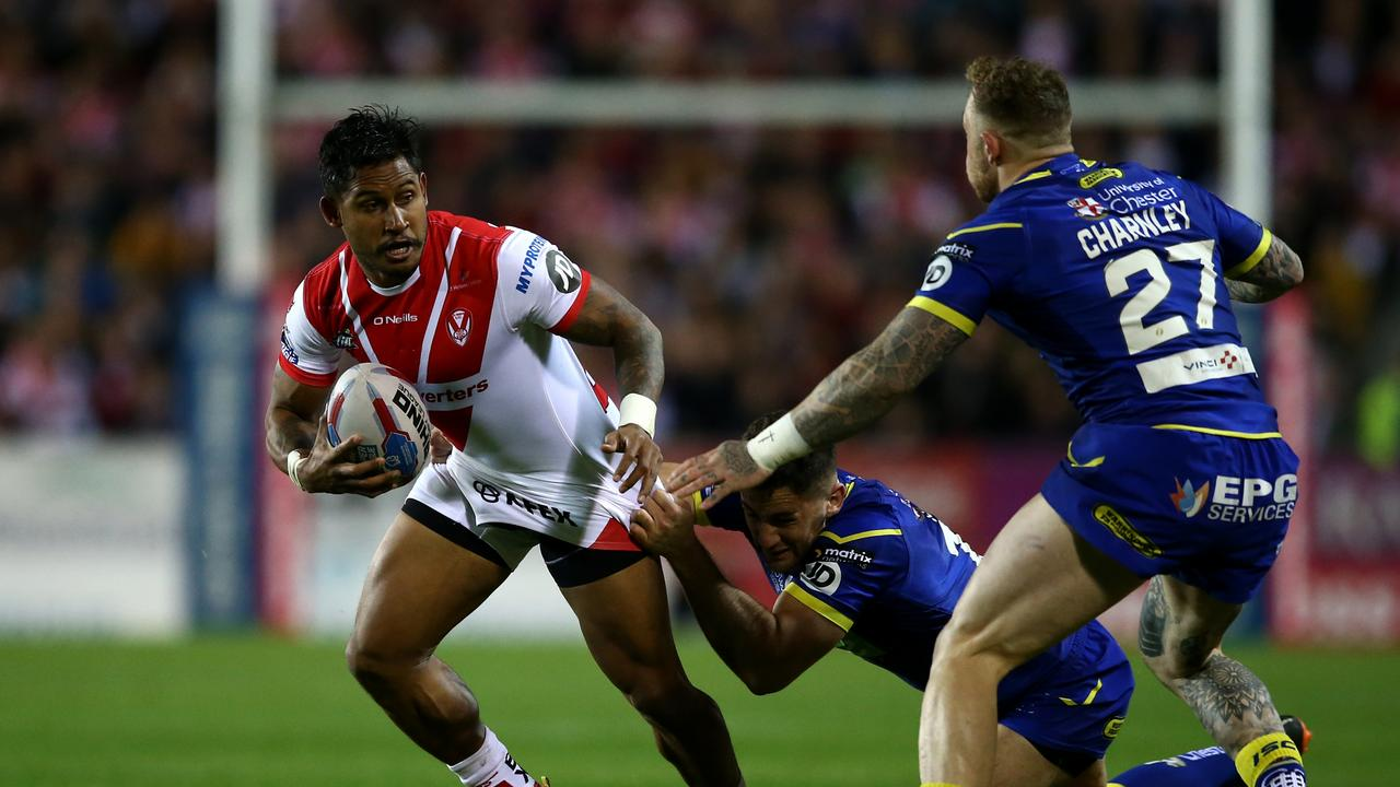 Ben Barba during his time with St Helens