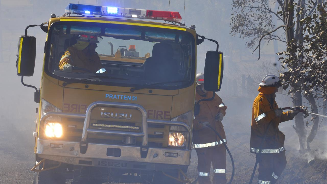 HIGH DANGER: Firefighters have controlled a vegetation fires.