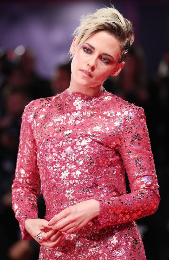 Kristen Stewart walks the red carpet ahead of the 'Seberg' screening during the 76th Venice Film Festival at Sala Grande. Picture: Vittorio Zunino Celotto/Getty Images
