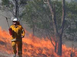 Rural fireys funds cut ahead of worst fire season