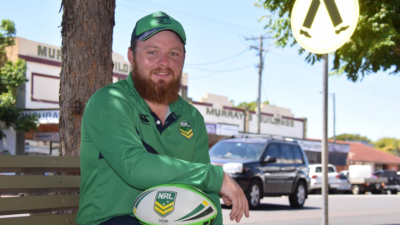 WELCOME: South Burnett's new NRL Game Development Officer, Brennan Brown.