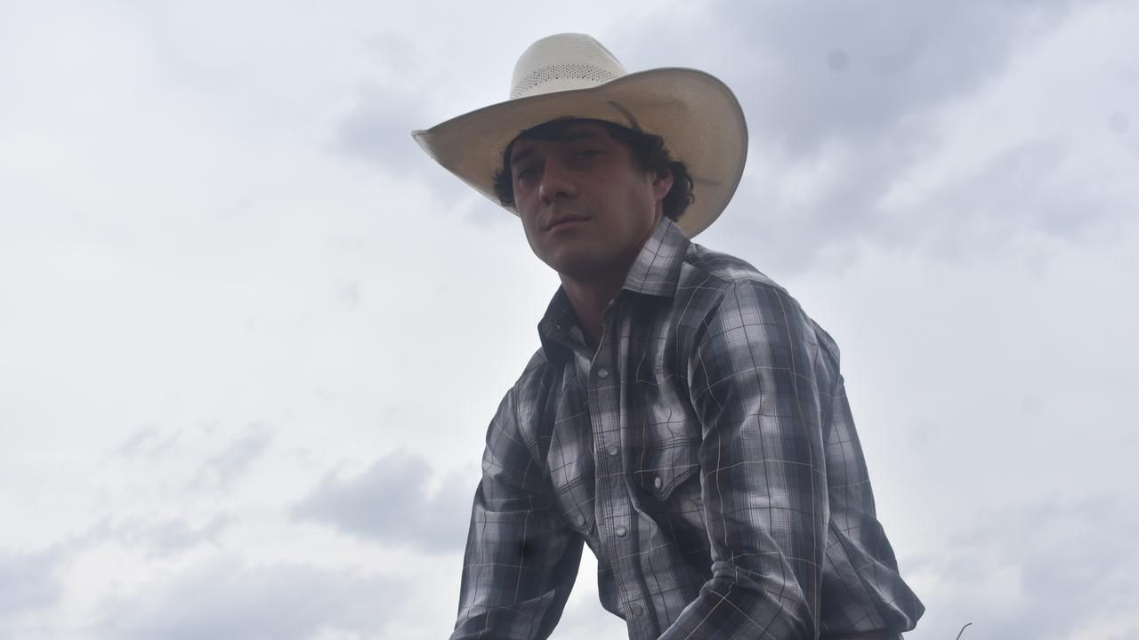 Lane Howlett from Roma is a major contender in the Rodeo 4 Life, which raises money for the RPA Transplant Institute.