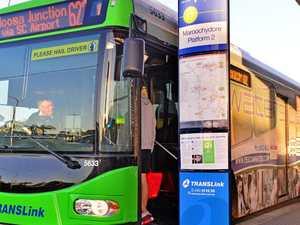 Wild boys exposed in bus stop brawl
