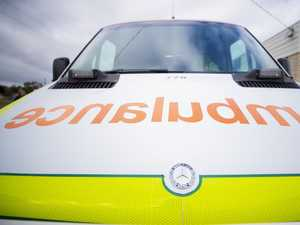 Woman hospitalised after two-vehicle crash in Toowoomba