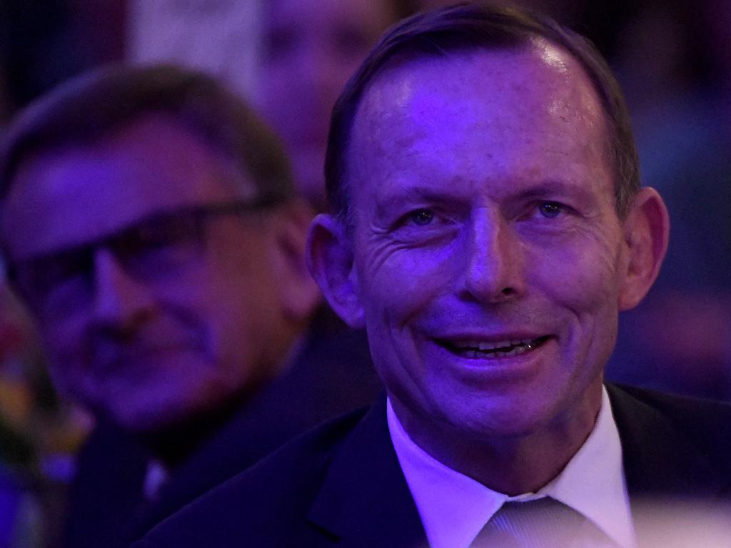 Former prime minister Tony Abbott. Picture: AAP
