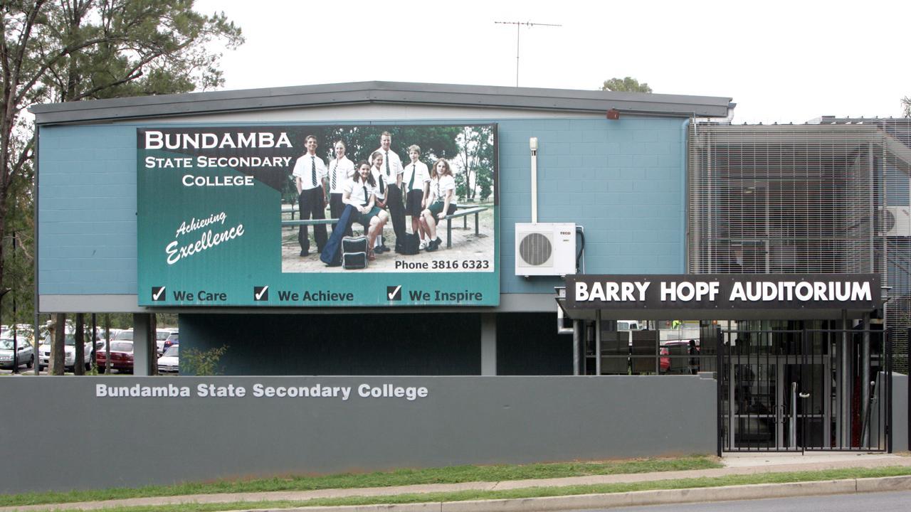 Bundamba Secondary College. Picture: Campbell Scott.