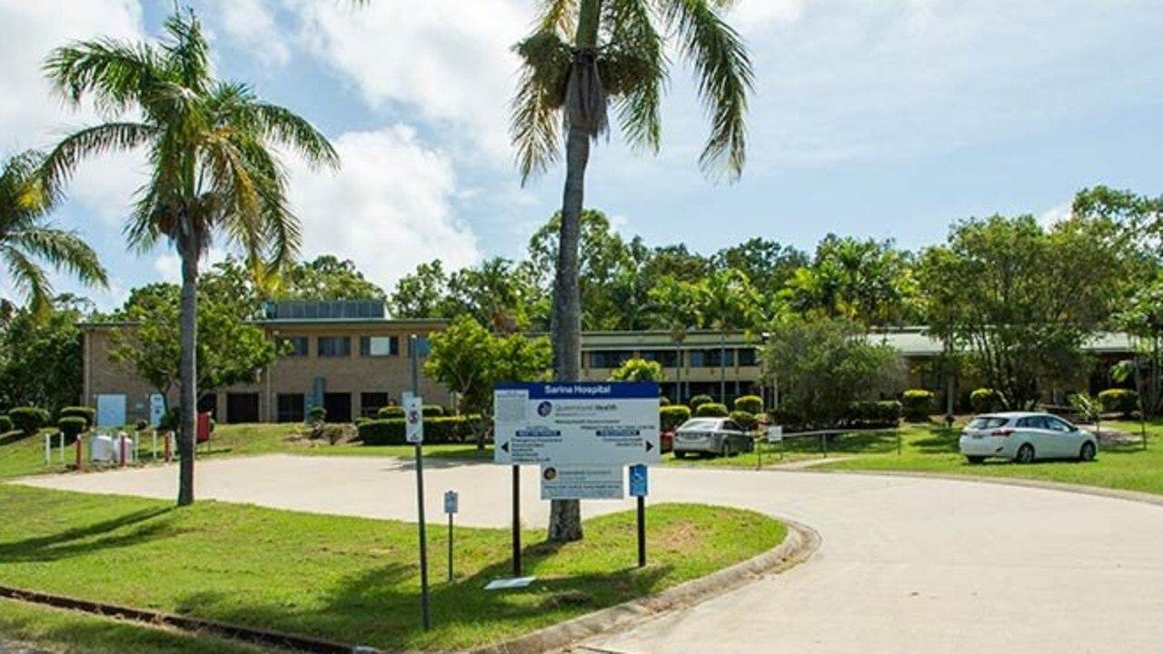 HEALTH FACILITY: The current Sarina Hospital