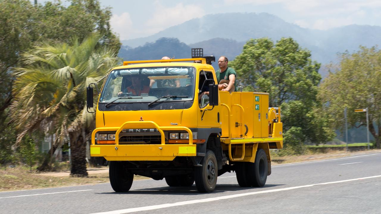 A Queensland Fire and Emergency Services spokesperson said two crews were heading to the fire along Eungella Dam Rd.