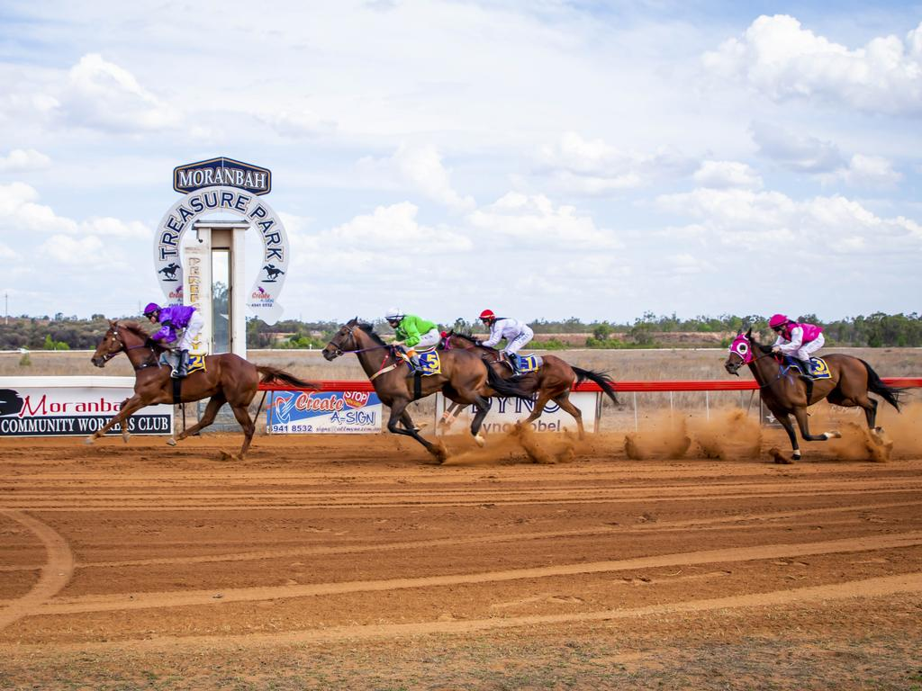 Moranbah Spring Race Day is on this weekend. (Picture: Kirra Alexander)