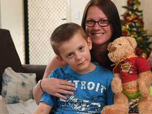 Rare tumour strikes six-year-old cutie Heath Chin