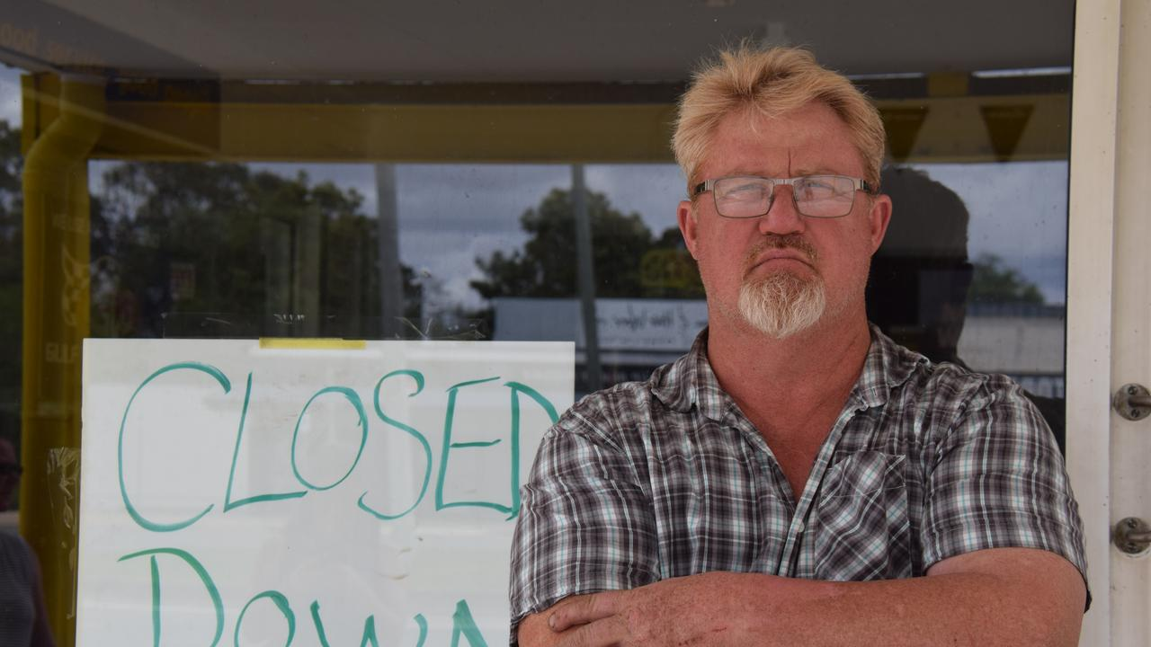 CLOSED DOWN: Paul Halse from Murgon business, Burnett Tyre Service encouraged others to do their research before starting a business in South Burnett.