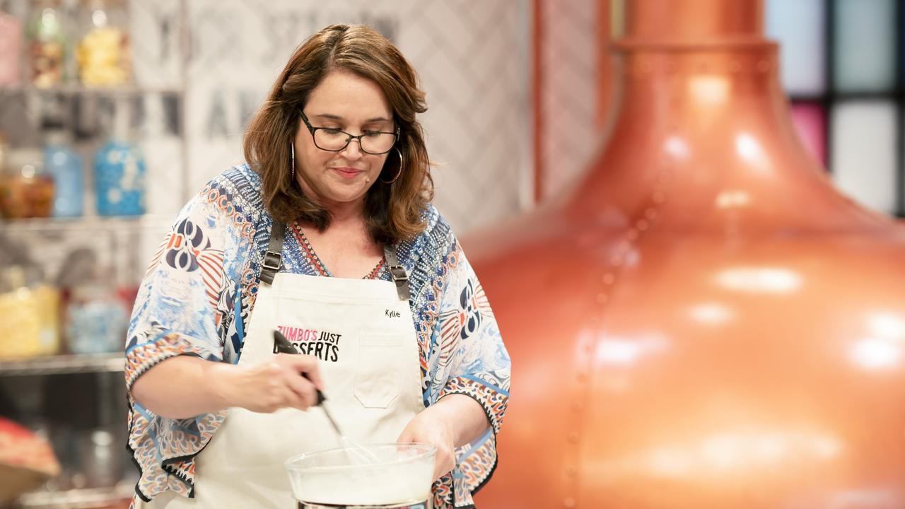 Mourilyan mum Kylie Farinelli will compete in this year's Zumbo's Just Desserts reality show. Picture: Supplied