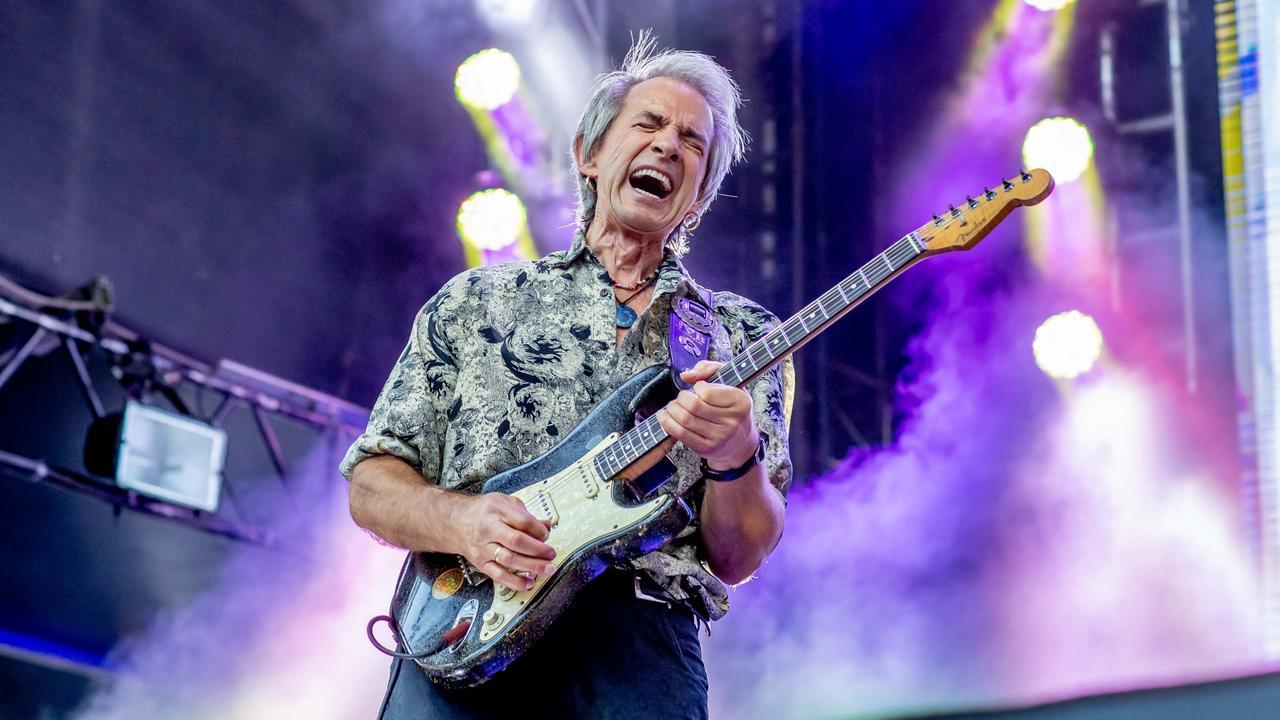 Kevin Borich performing at Blues on Broadbeach 2019. Photo: Luke Marsden