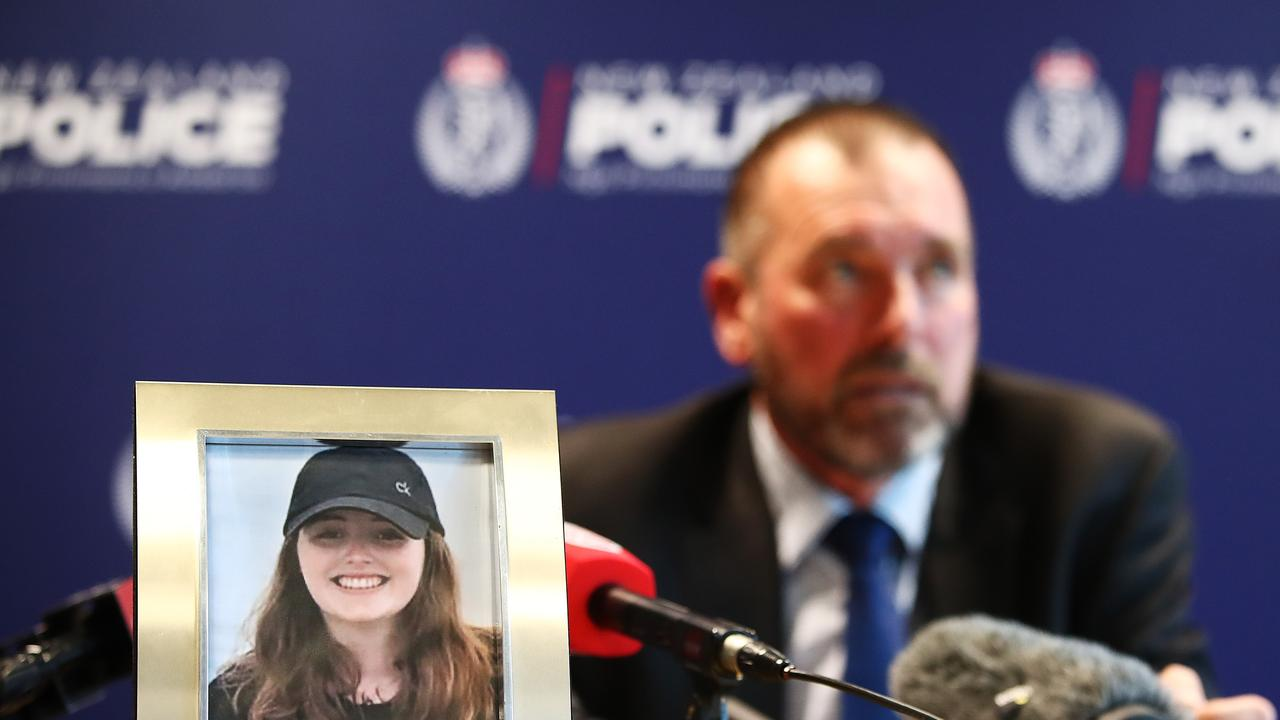 Grace Millane was in constant communication with her family before her disappearance, her father says. Picture: Hannah Peters/Getty Images