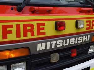Fireys battle flames in Doonan blaze