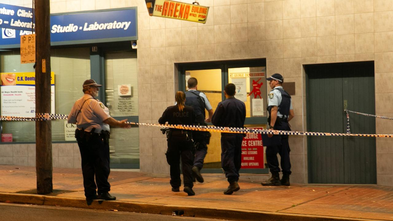 The girl was attacked at a Sydney dance studio. Picture: Damian Hoffman