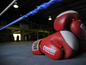 Police take accused car thief to casino boxing event