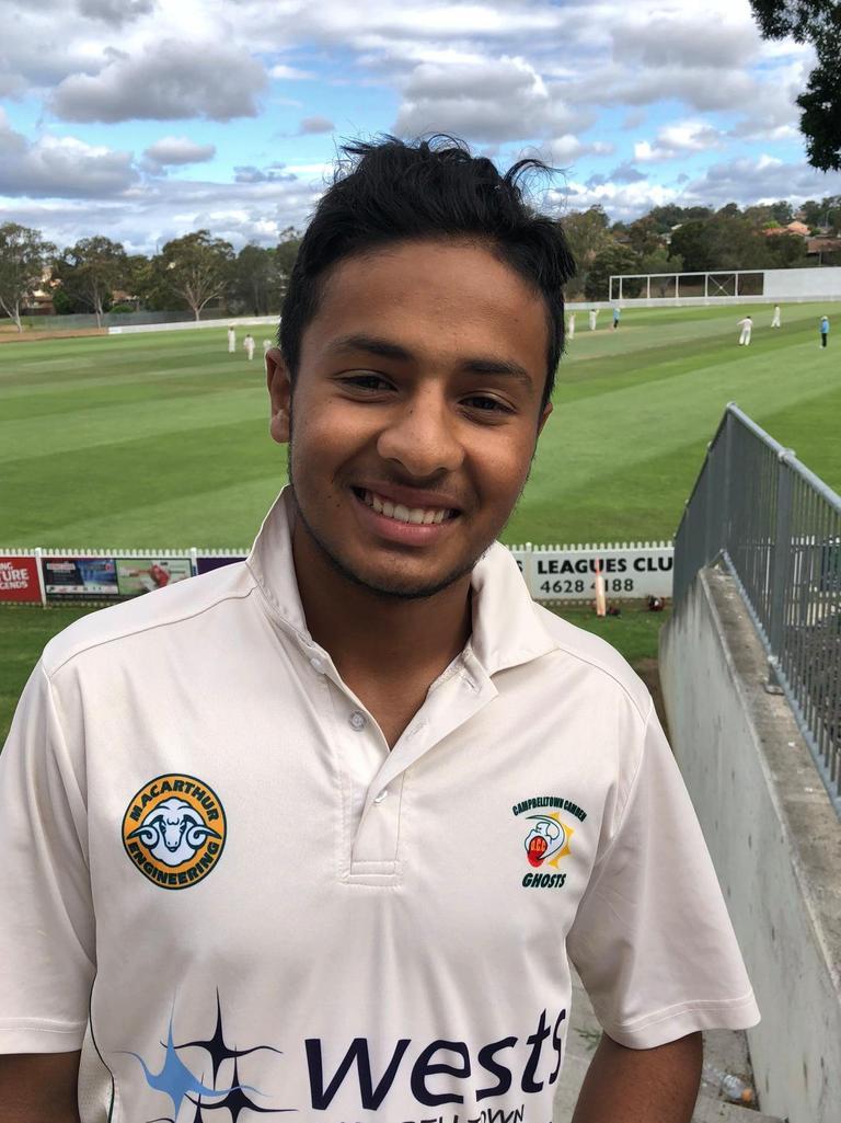 17-year-old spinner Tanveer Sangha is making a big impression..